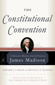 Cover of: The Constitutional Convention