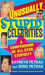 Cover of: Unusually Stupid Celebrities