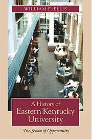 Cover of: A History Of Eastern Kentucky University