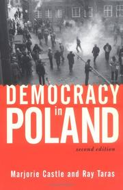 Cover of: Democracy in Poland (2nd Edition)