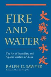 Cover of: Fire and Water