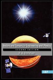 Cover of: Vectors and Tensors in Engineering and Physics