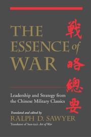 Cover of: The Essence of War