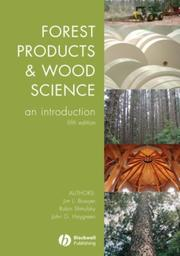 Cover of: Forest Products and Wood Science