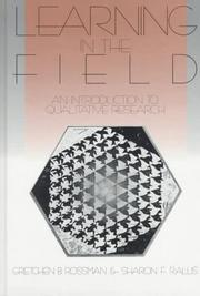 Cover of: Learning in the Field