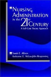 Cover of: Nursing Administration in the 21st Century
