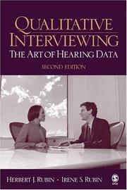 Cover of: Qualitative Interviewing