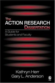 Cover of: The Action Research Dissertation