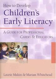 Cover of: How to Develop Children's Early Literacy