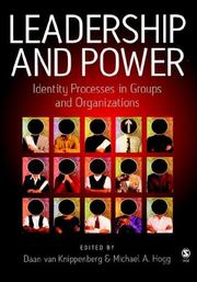 Cover of: Leadership and power