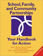 Cover of: School, Family, and Community Partnerships