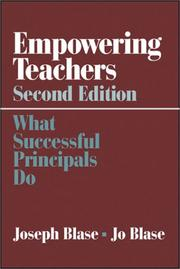 Cover of: Empowering Teachers