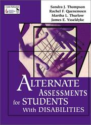 Cover of: Alternate Assessments for Students With Disabilities