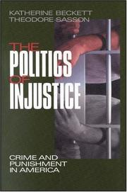 Cover of: The Politics of Injustice