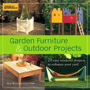 Cover of: Garden Furniture and Outdoor Projects