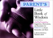 Cover of: Parent's Little Book of Wisdom