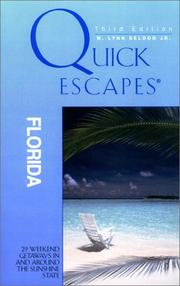 Cover of: Quick Escapes Florida, 3rd