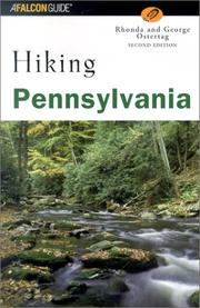 Cover of: Hiking Pennsylvania, Second Edition
