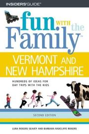Cover of: Fun with the Family Vermont and New Hampshire, 2nd