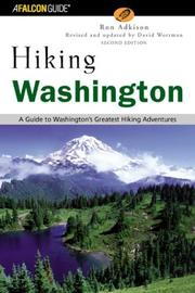 Cover of: Hiking Washington, 2nd