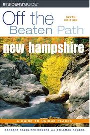 Cover of: New Hampshire Off the Beaten Path, 6th