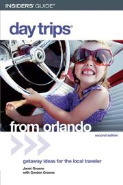 Cover of: Day Trips from Orlando, 2nd (Day Trips Series)