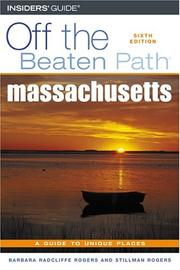 Cover of: Massachusetts Off the Beaten Path, 6th