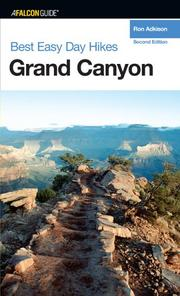 Cover of: Best Easy Day Hikes Grand Canyon, 2nd (Best Easy Day Hikes Series)