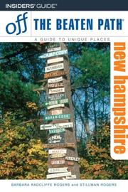 Cover of: New Hampshire Off the Beaten Path, 7th