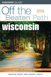 Cover of: Wisconsin Off the Beaten Path, 8th