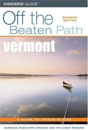 Cover of: Vermont Off the Beaten Path, 7th