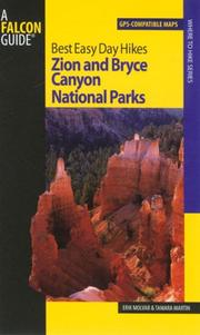 Cover of: Best Easy Day Hikes Zion and Bryce Canyon National Parks (Best Easy Day Hikes Series)