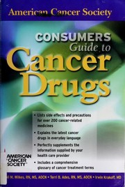 Cover of: Consumers Guide to Cancer Drugs (American Cancer Society)
