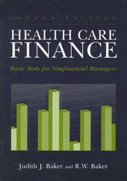 Cover of: Healthcare Finance