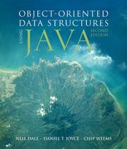 Cover of: Object-oriented Data Structures Using Java