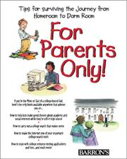 Cover of: For Parents Only