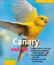 Cover of: My Canary and Me