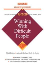 Cover of: Winning with Difficult People