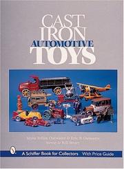 Cover of: Cast Iron Automotive Toys (Schiffer Book for Collectors)