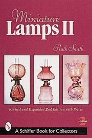 Cover of: Miniature Lamps II (Schiffer Book for Collectors)