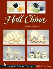 Cover of: Hall China