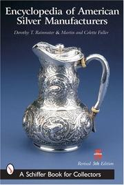 Cover of: Encyclopedia of American Silver Manufacturers (Schiffer Book for Collectors)