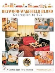 Cover of: Heywood-wakefield Blond
