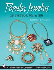 Cover of: Popular Jewelry of the '60, '70s, & '80s