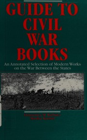 Cover of: Guide to Civil War books