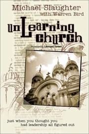 Cover of: Unlearning Church