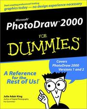 Cover of: Microsoft PhotoDraw 2000 for Dummies