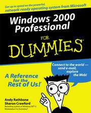 Cover of: Windows 2000 Professional for Dummies