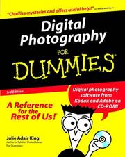 Cover of: Digital Photography for Dummies, Third Edition
