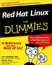 Cover of: Red Hat Linux for Dummies